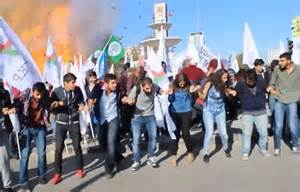 Explosion at Peace Rally at Ankara, Turkey